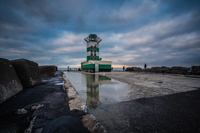 IJmuiden Harbour Light