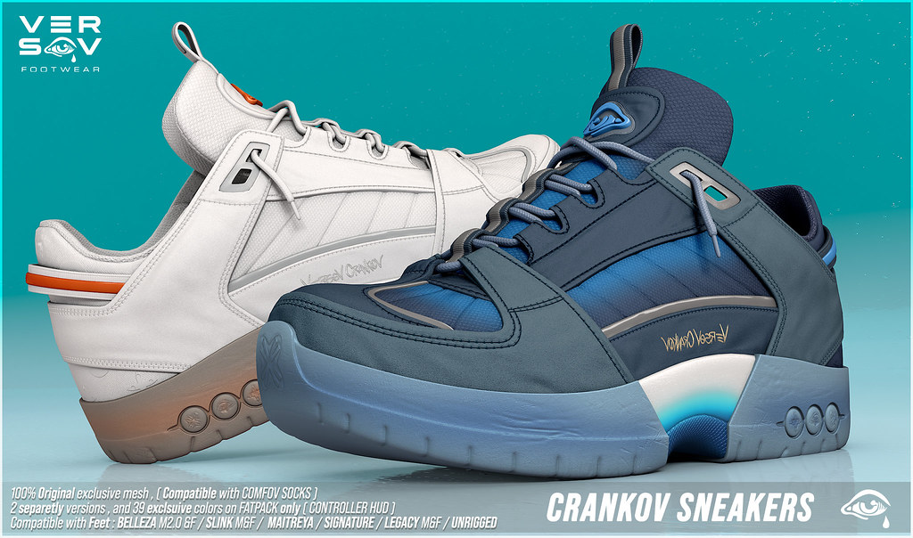 [ Versov // ] CRANKOV sneakers available at TMD