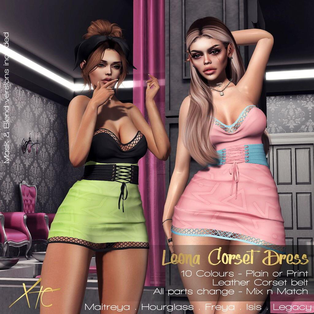 .Leona Corset Dress. @UniK