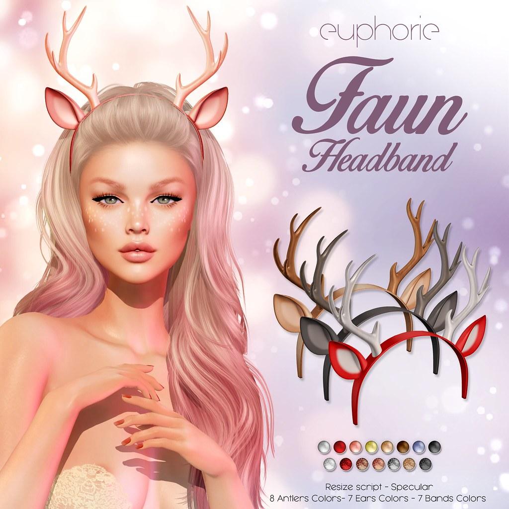Euphorie – Faun Headband Ad