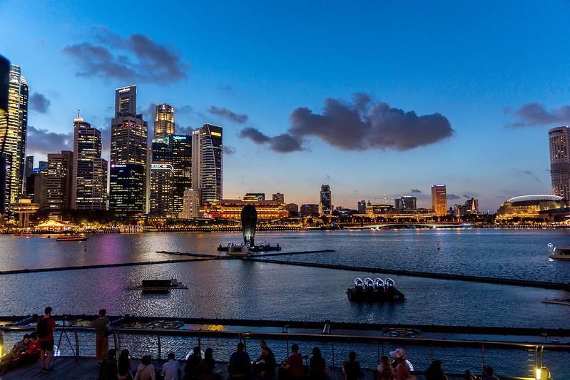 Stunning Singapore Skyline