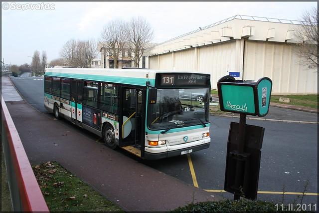 Heuliez Bus GX 317 (Renault Citybus) – RATP (Régie Autonome des Transports Parisiens) / STIF (Syndicat des Transports d'Île-de-France) n°1055