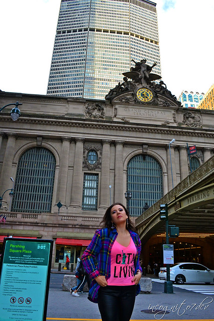 Me & Grand Central Station 42nd St Park Avenue Midtown Manhattan New York City NY P00733 DSC_0699