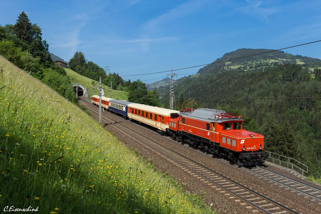 EBFL 1020 018 auf dem Weg nach Tirol