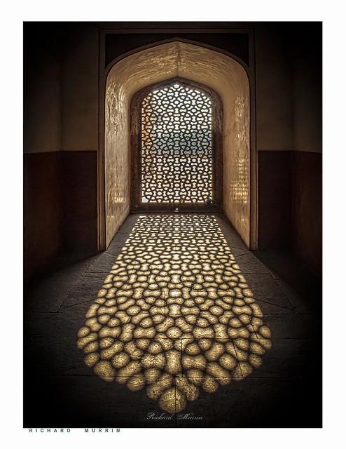 Indian Window, Lodi Gardens, Delhi.