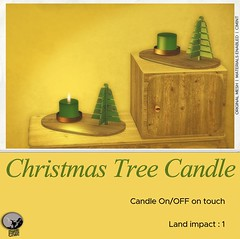 Christmas Tree Candle : New Release