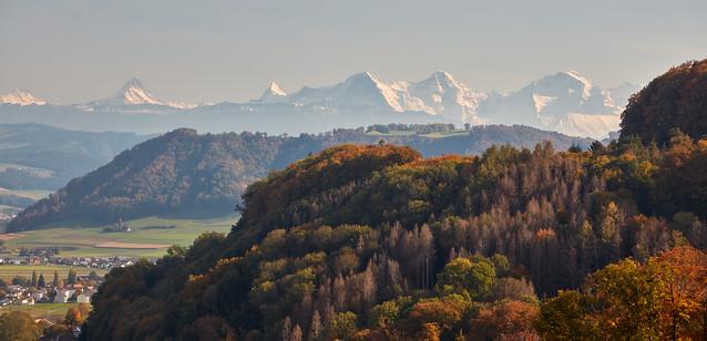 Kehrsatz – View from Gurten mountain