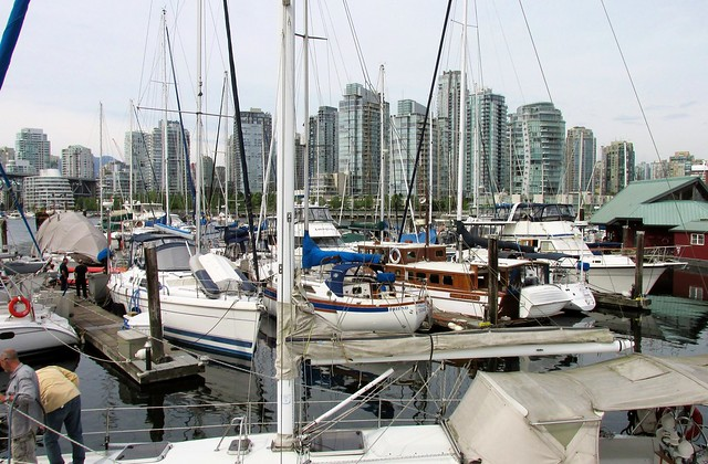 Vancouver - Spruce Harbour Marina and Yaletown