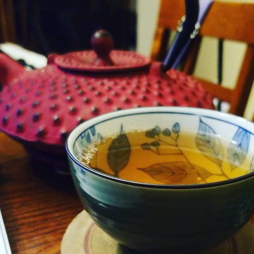 Green tea is now part of my daily life and this makes me happy. #yum #tea #GreenTea