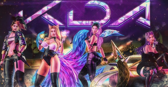 LEAGUE OF LEGENDS: KDA!!!