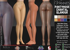 VANNIES Pantyhose Chantal Glamour