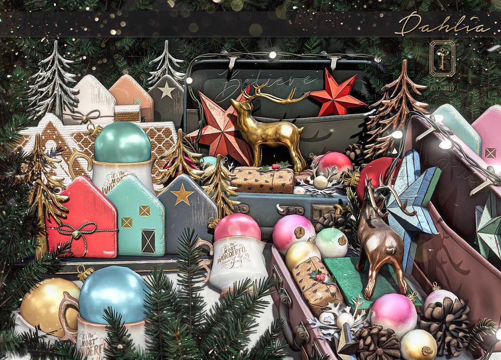 Dahlia – Winter Memory for Santa Inc.