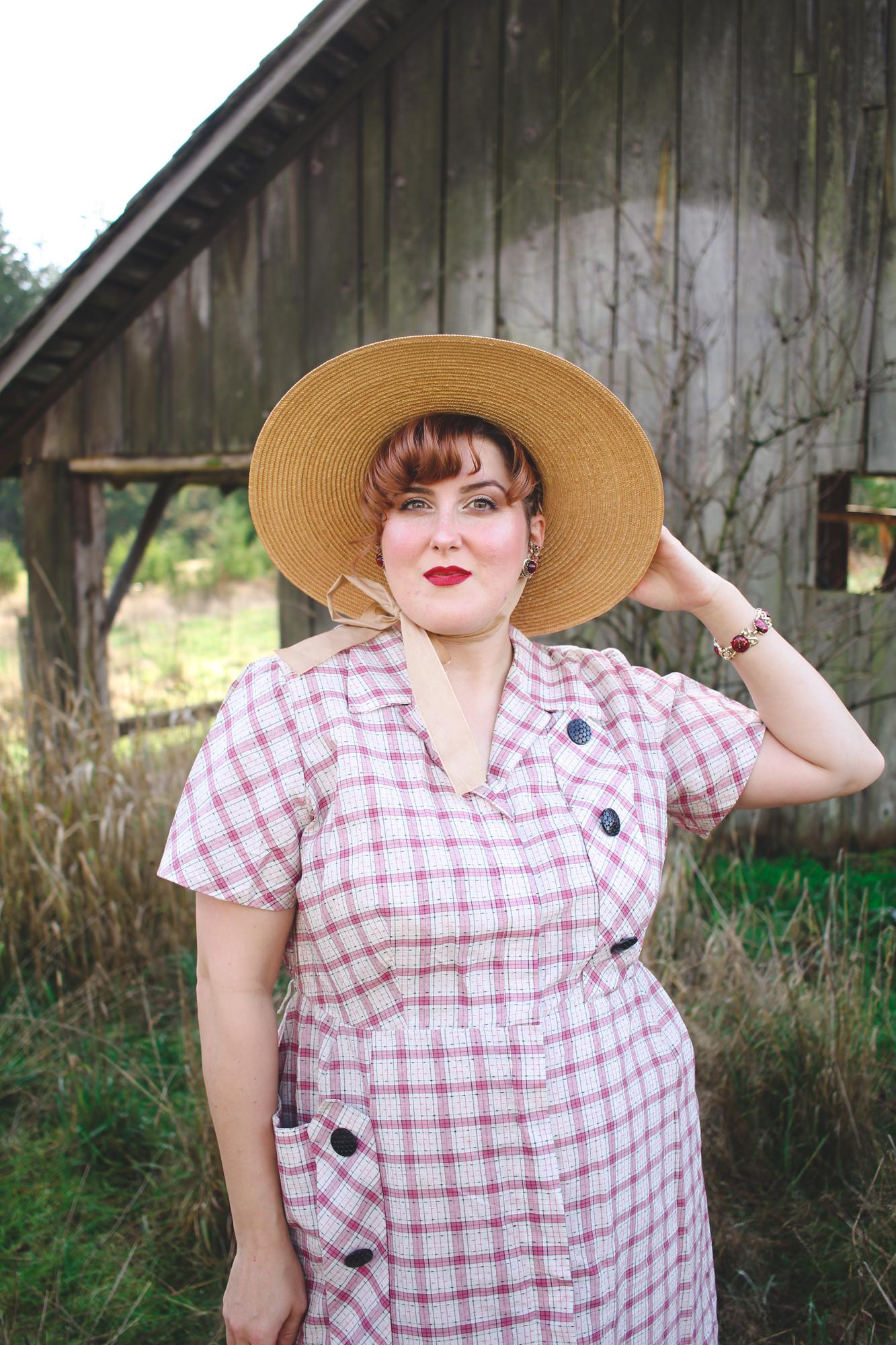Simplicity Dress-Ups Vintage 1950s dress