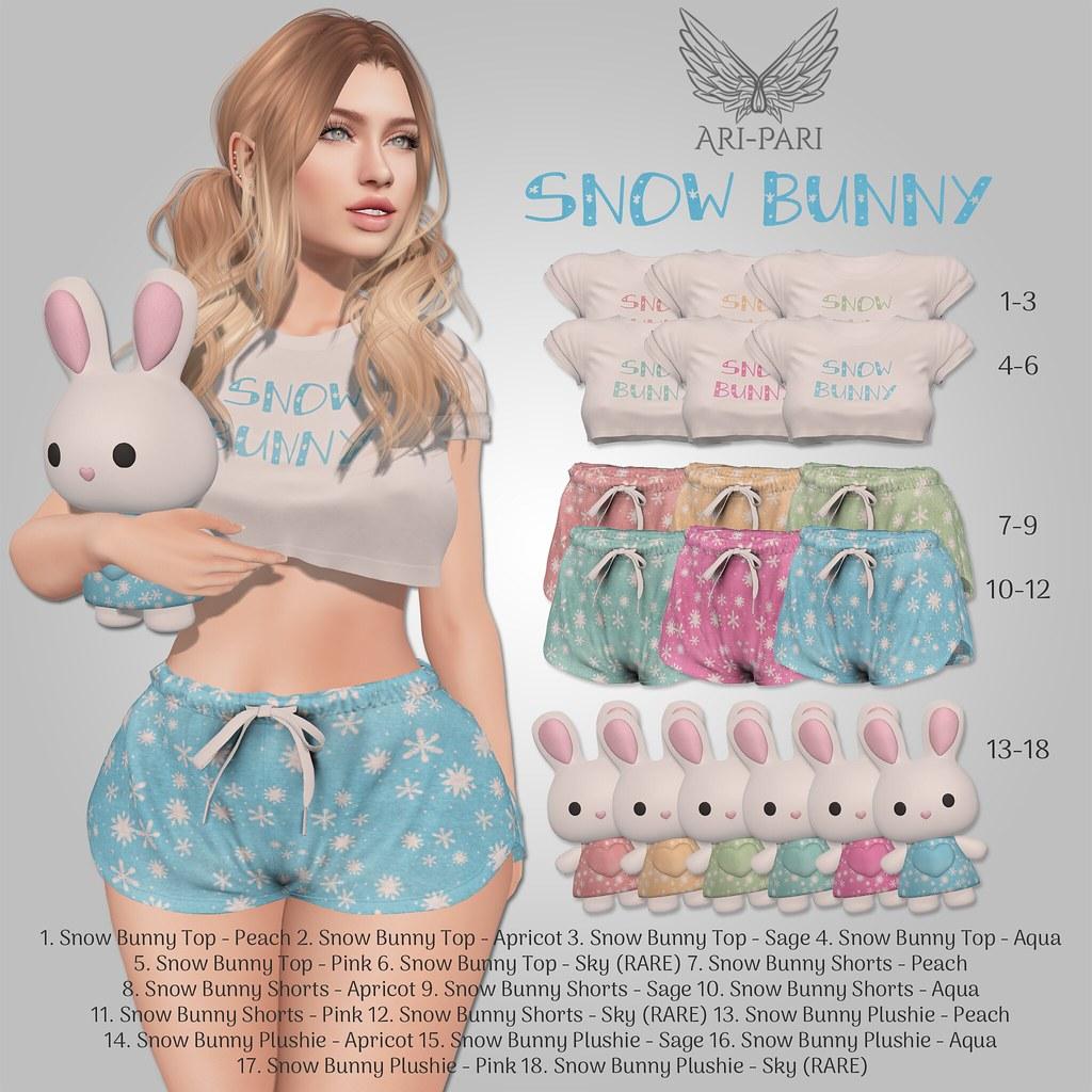 [Ari-Pari] Snow Bunny Gacha