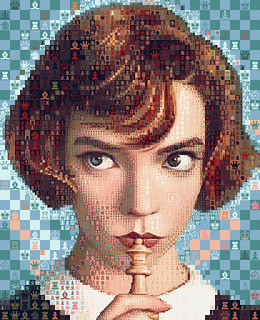 The Queen's Gambit:  It's mostly about my being a girl.— Beth Harmon