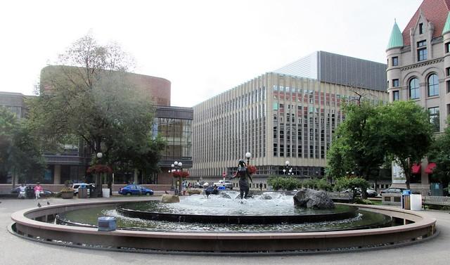 St. Paul - Rice Park Fountain