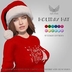 [Ari-Pari] Holiday Hat