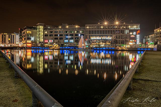 Landeshauptstadt Kiel - Innenstadt am Bootshafen