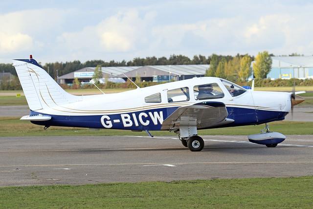 G-BICW  -  Piper PA28-161 Warrior II c/n 28-7916309  -  BBS/EGLK 16-10-20
