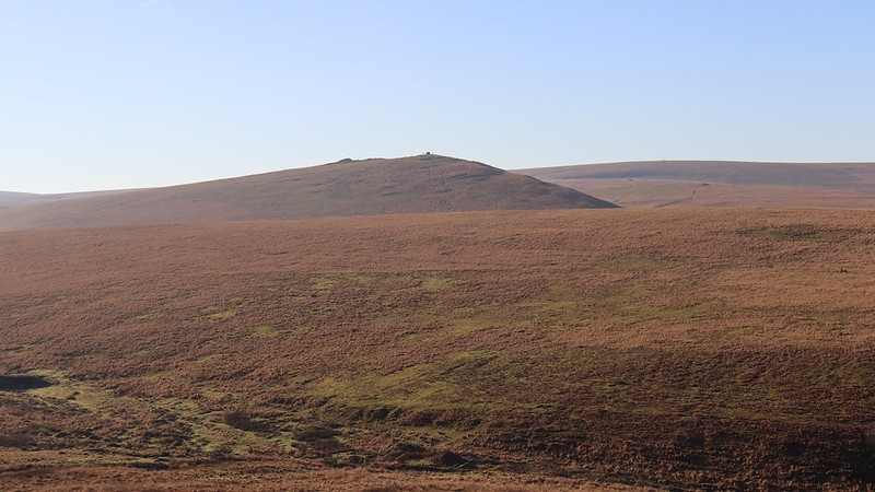 Steeperton Tor behind Metheral Hill