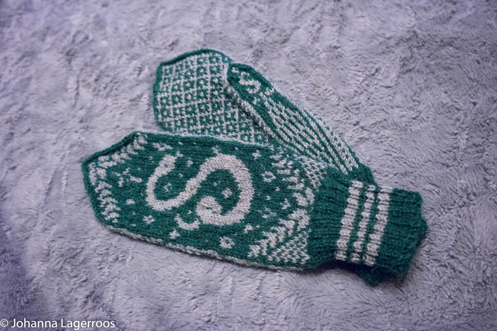 slytherin mittens