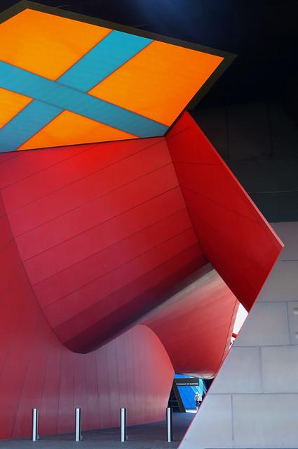 Museum atrium.
