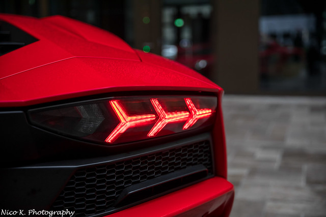 Aventador rearlights