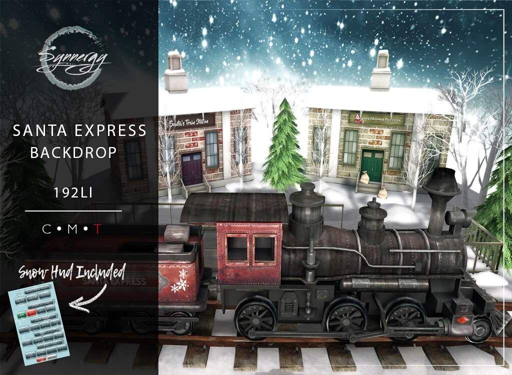 Santa Express @ The Darkness Event