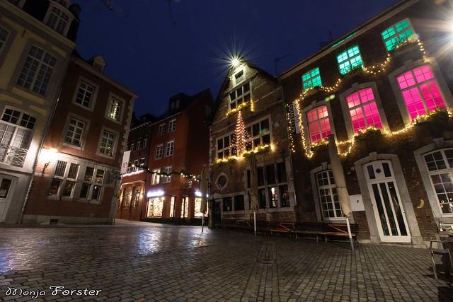 Abendrunde in Aachen