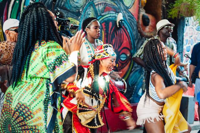 Cuba 2019 - La Habana - Callejon de Hamel: Elegua