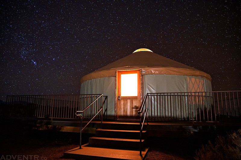 Dead Horse Point Yurt Under the Stars