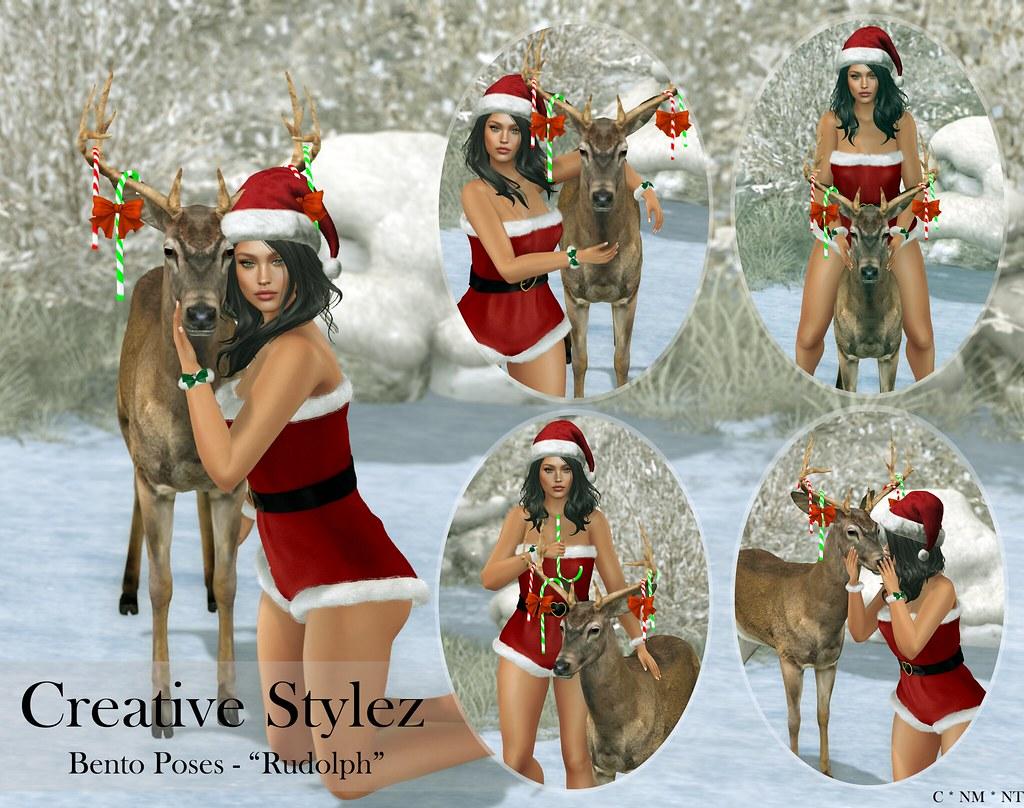 Creative Stylez – Bento Poses – Rudolph –