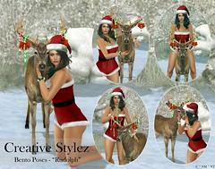 Creative Stylez - Bento Poses - Rudolph -