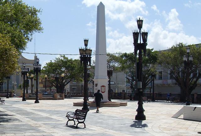 Arecibo Plaza Bench