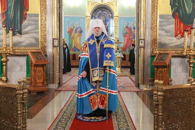 В день празднования Введения во храм Пресвятой Богородицы 04.12.2020