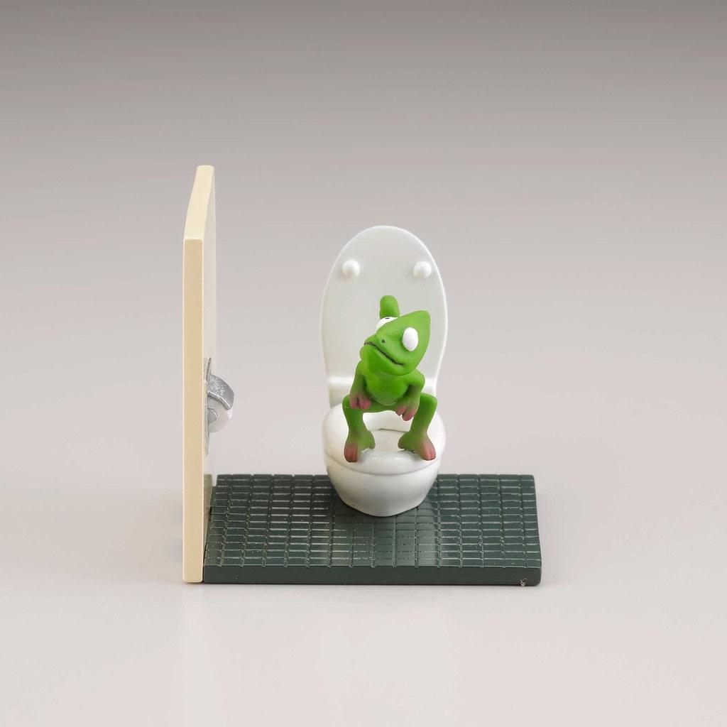 海洋堂《膠囊Q博物館》佐藤邦雄的動物們「廁所時光」轉蛋!2021年3月解放開扭