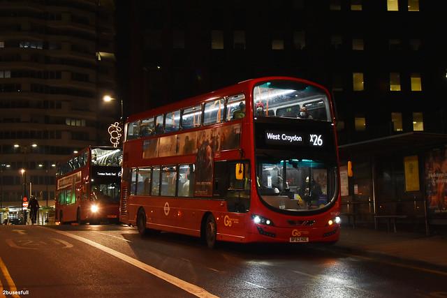 x26 | GoAhead Metrobus | WVL509 | West Croydon