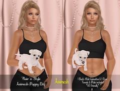 {Flair 'n' Style} Animesh Puppy Dog