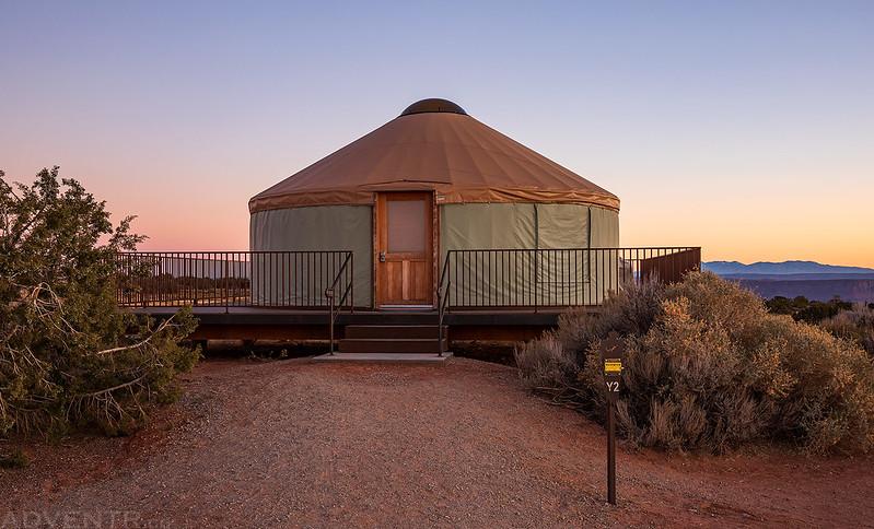 Dead Horse Point Yurt #2