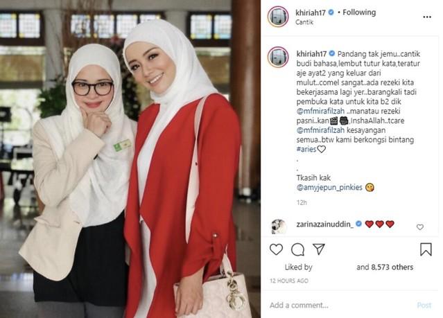 Pertama Kali Digandingkan Dalam Drama, Noorkhiriah Dedah Cerita Mira Filzah