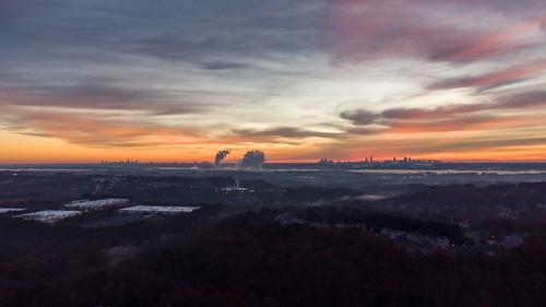buckhead usa georgia sunrise manhattan midtown color newyorkcity atlanta sky fog 2020 skyline newyork downtown mableton unitedstates