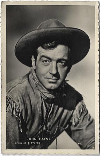 John Payne in Santa Fe Passage (1955)
