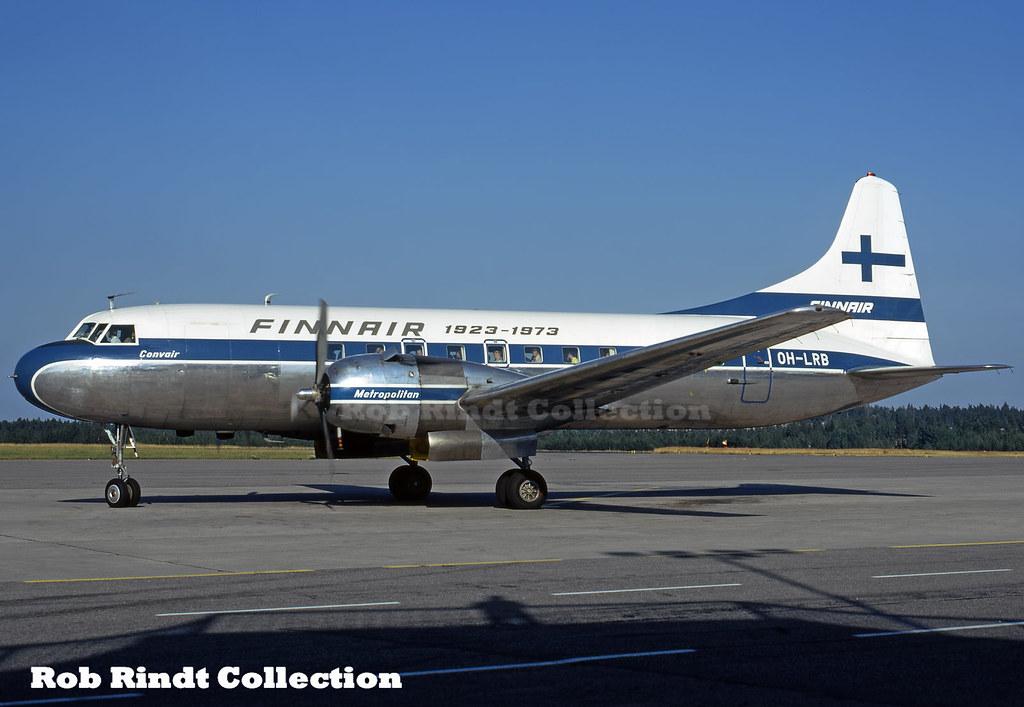 Finnair Convair 440-40 OH-LRB