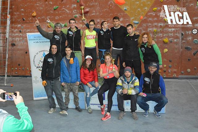 Национален студентски шампионат по катерене НСА 2020 г.