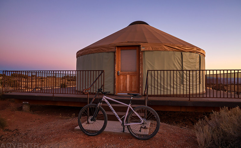 My Bike & The Yurt
