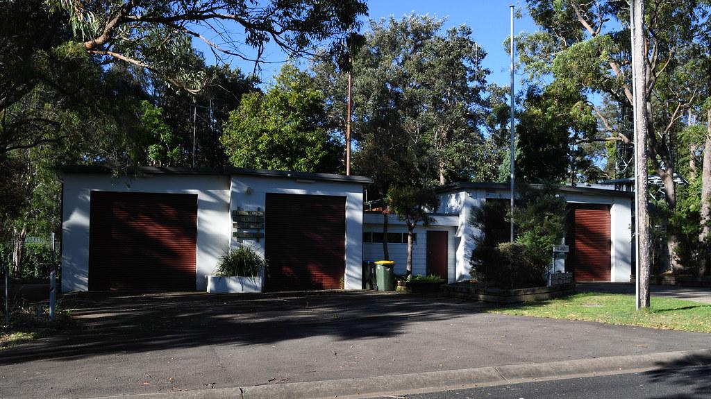 Glenbrook Lapstone Rural Fire Brigade, Glenbrook, NSW.