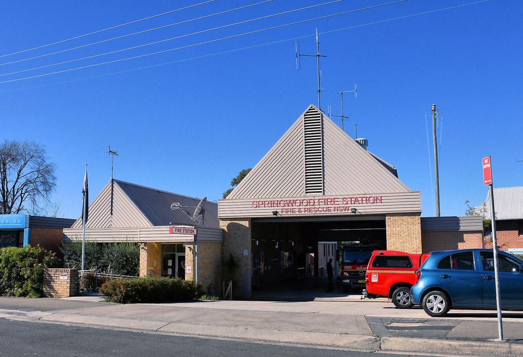 Fire Station, Springwood, NSW.