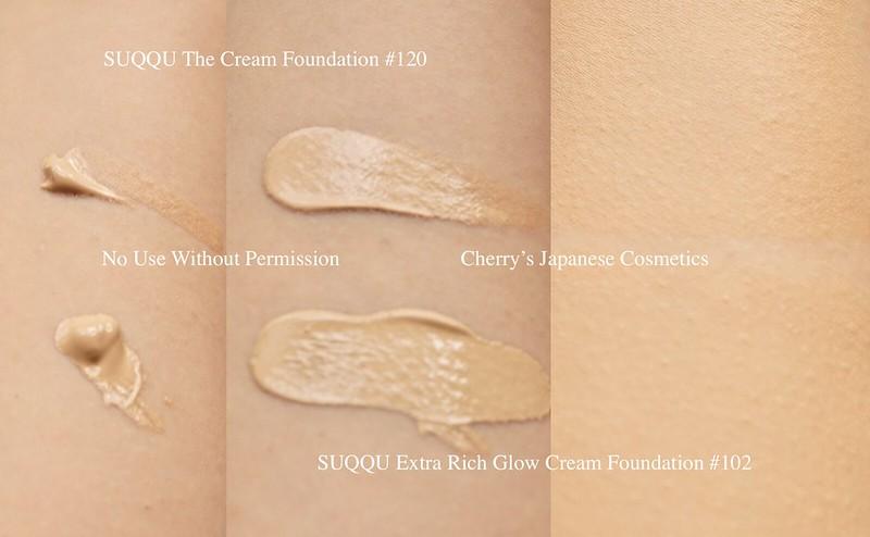 Suqqu foundation swatch