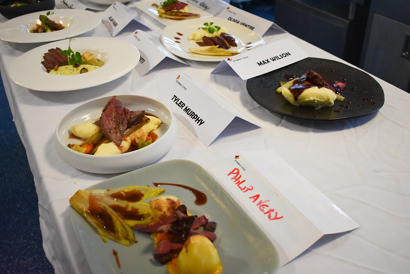 Culinary Exam Tests Students Knowledge and Skills