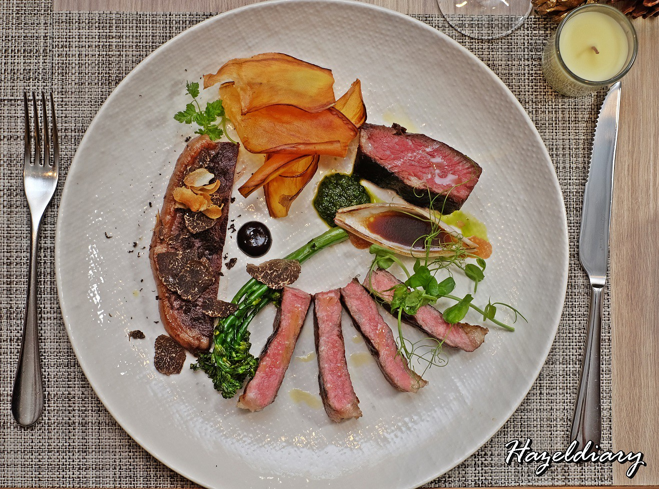 Four Seasons Hotel Singapore-Westholme Tri Wagyu Tasting Menu
